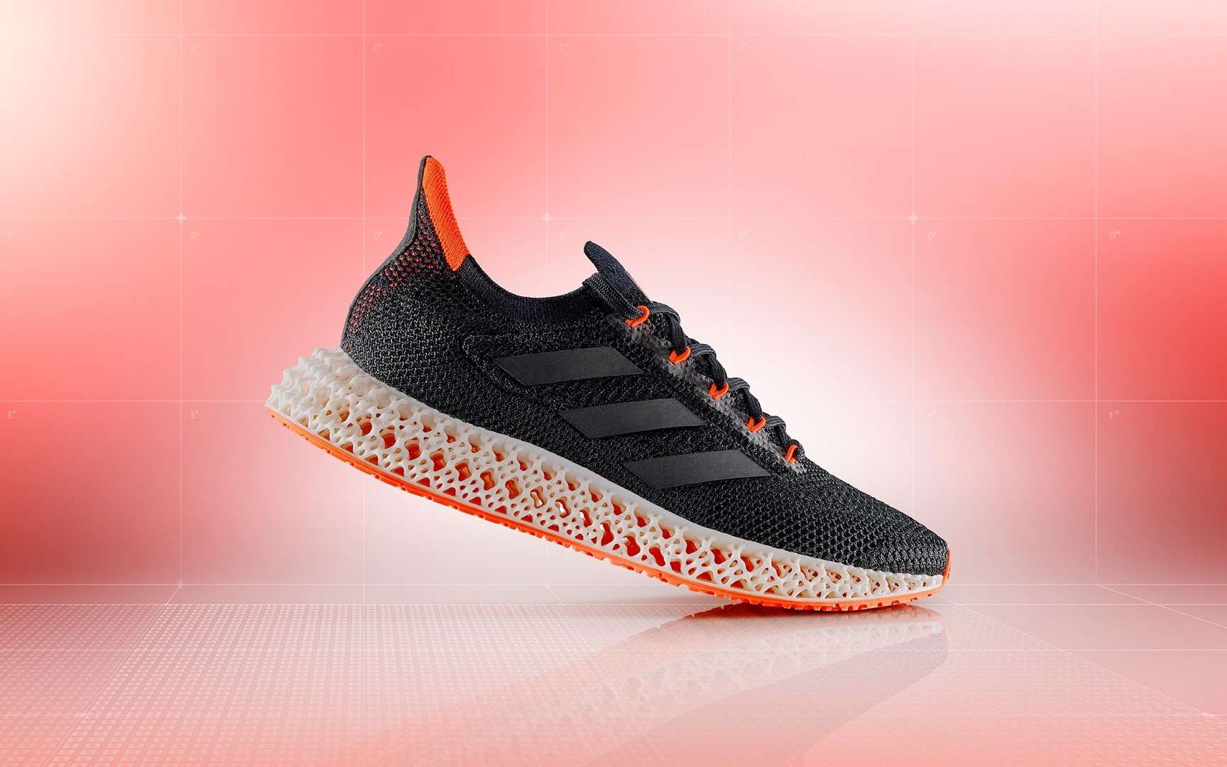 Adidas launches shoe with 3D printed midsole