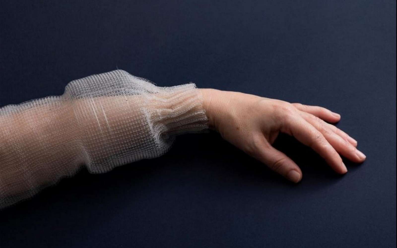 This textile fiber is able to record your physical activities