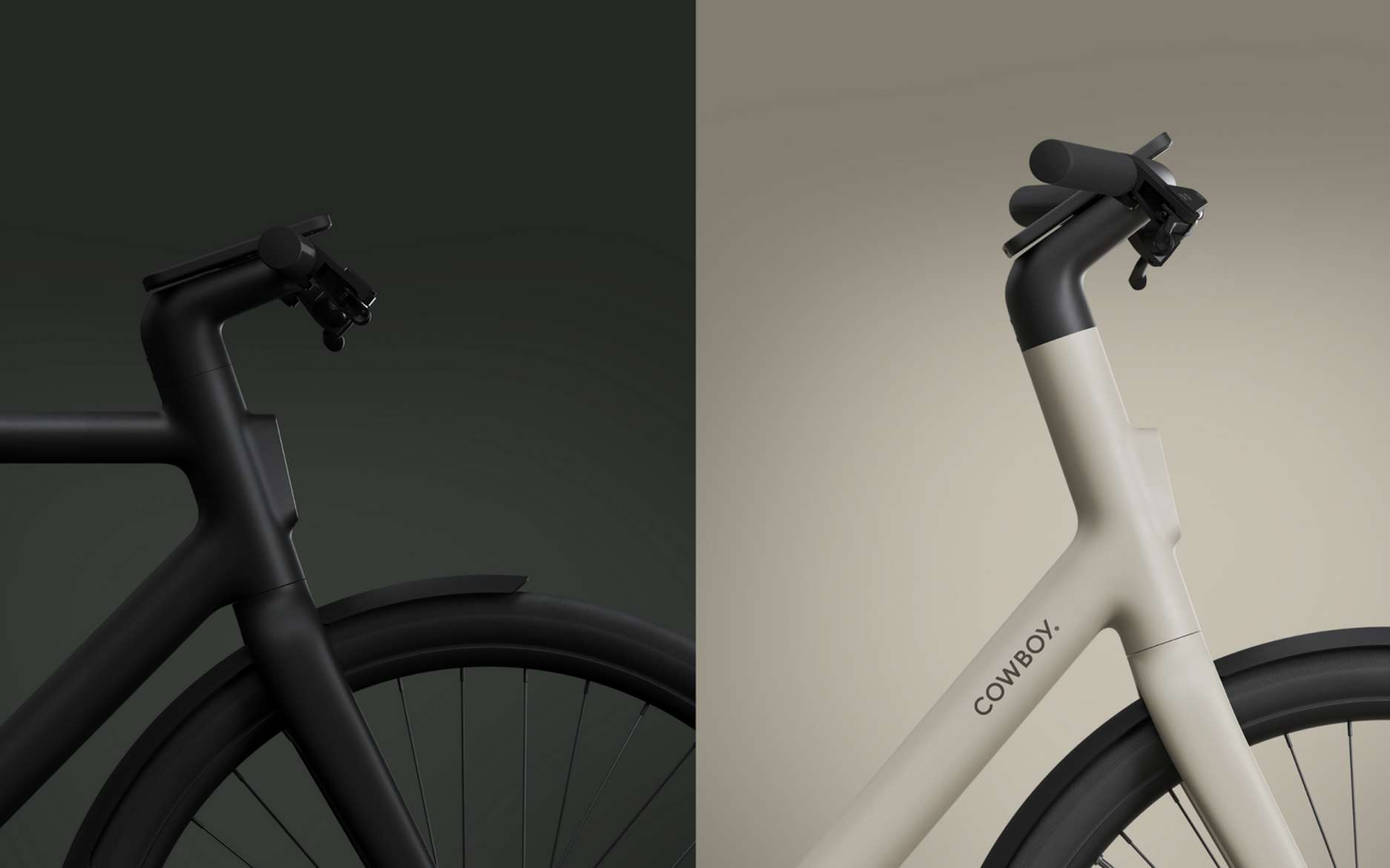"""Electric bike: the Cowboy 4 adopts an open frame and a """"connected cockpit"""""""