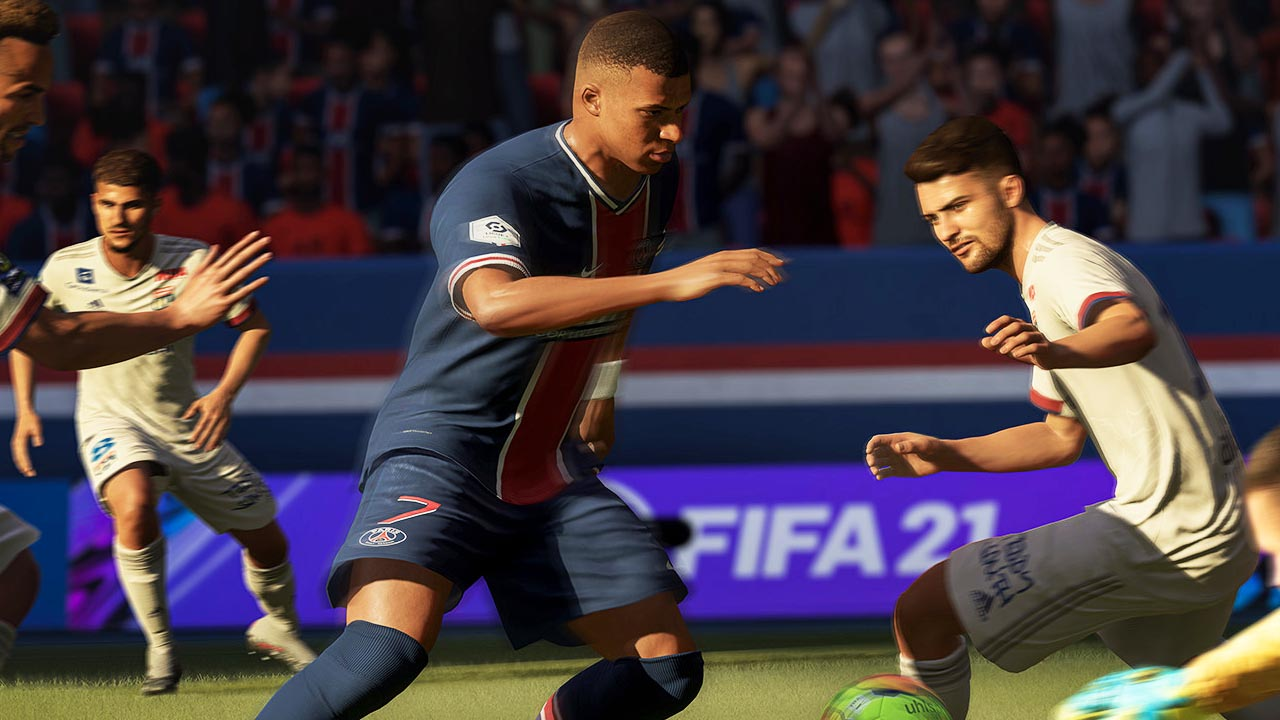 We know the size of the FIFA 22 beta. The first shots of the game and the logo have leaked