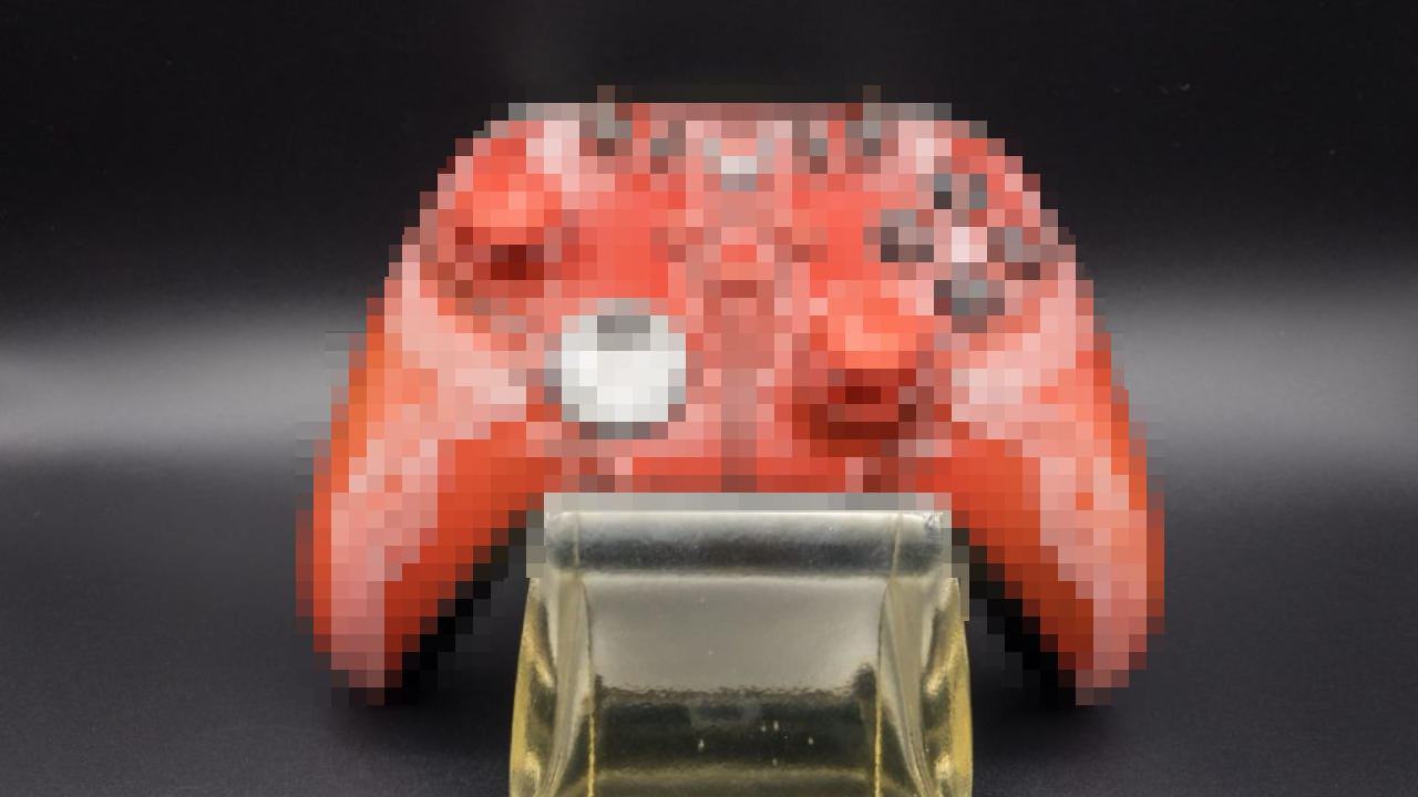 Here's an extremely limited-edition Xbox controller. It looks like it was taken out of the world of The Elder Scrolls