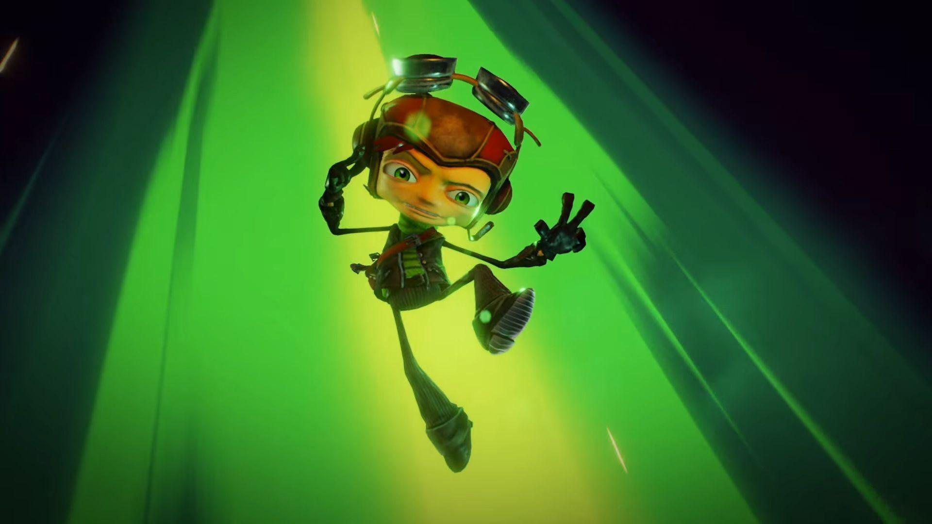 The new gameplay from Psychonauts 2 shows the exploration of the characters' minds