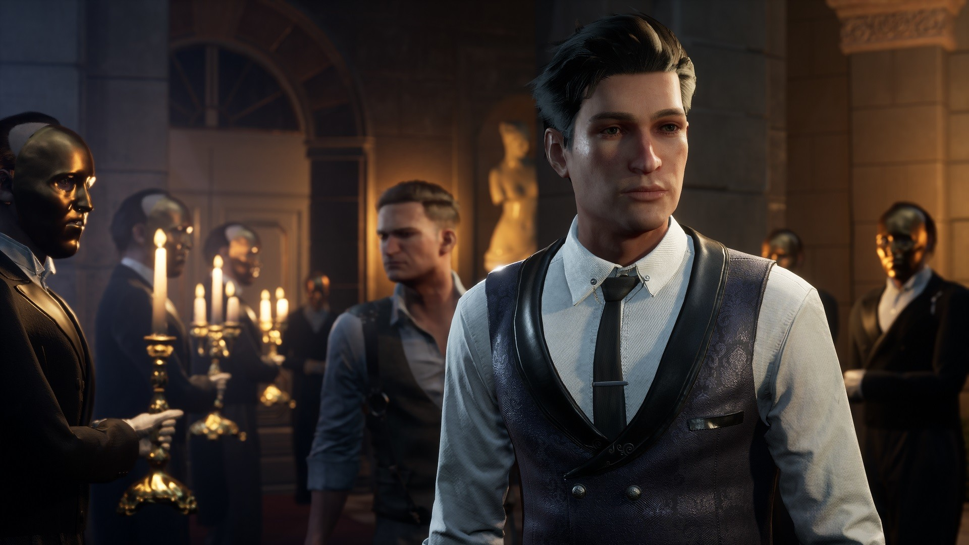 The new gameplay from Sherlock Holmes: Chapter One presents a detective in a dress