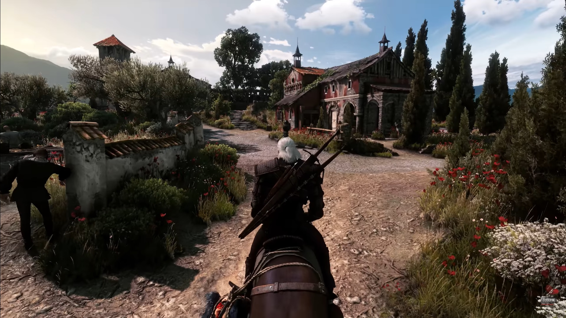 The Witcher 3 on RTX 3090 looks phenomenal with over 50 mods