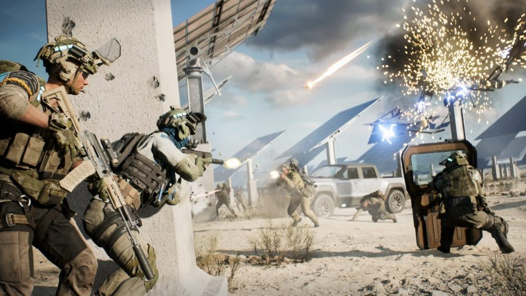 Battlefield 2042's Hazard Zone mode offers a squad-based tactical experience