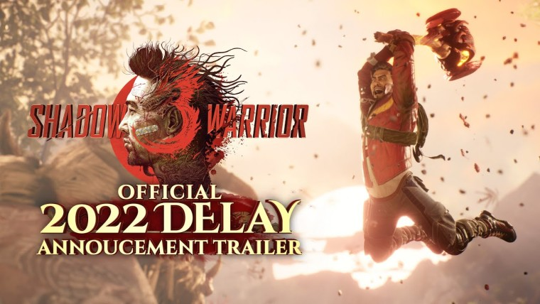 Shadow Warrior 3 launch pushed back to 2022, drops a fitting delay trailer